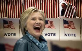 Hillary voting