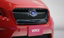 The new 2015 Subaru WRX is introduced at the Los Angeles Auto Show on Wednesday, Nov. 20, 2013, in Los Angeles. (AP Photo/Jae C. Hong)