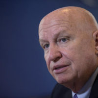 House Ways and Means Committee Chairman Rep. Kevin Brady, R-Texas., speaks during an interview with The Associated Press on Capitol Hill in Washington, Thursday, Dec. 1, 2016. (AP Photo/Susan Walsh)