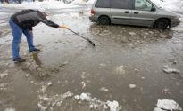 [Weather alert] Ice storm shuts down parts of Western U.S.