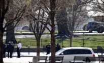 Suspicious man detained outside White House