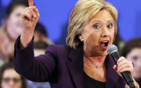 Hillary's DISGUSTING tongue lashing of Trump's budget (is ...