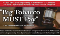 NY AG Eric Schneiderman: Big Tobacco MUST Pay