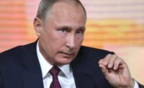 """Putin: U.S. is gripped by """"invented"""" collusion case"""