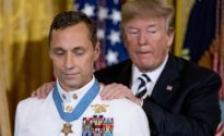 Trump awards Medal of Honor to Navy SEAL hero