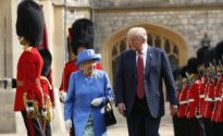 Trump reveals details of meeting with the Queen