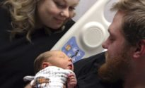 Man awakes from coma in time to witness birth of his son