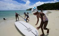 Island bans sun screen in effort to save coral reefs
